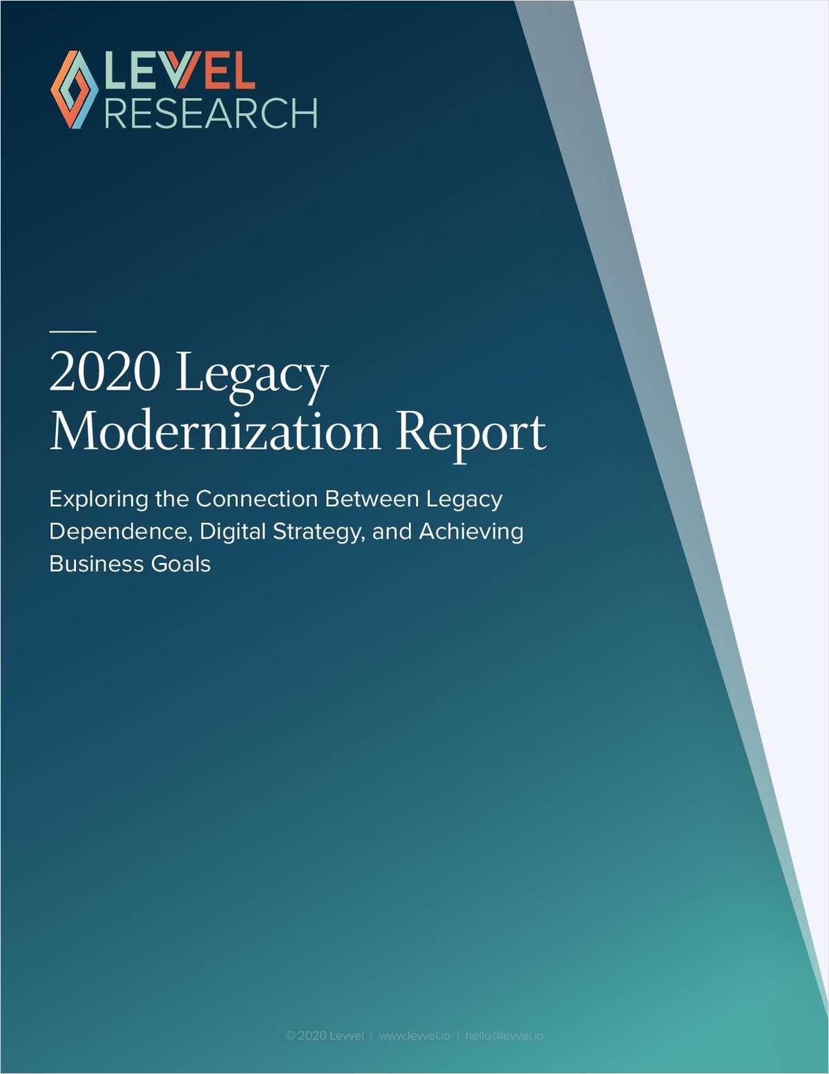 2020 Legacy Modernization Report
