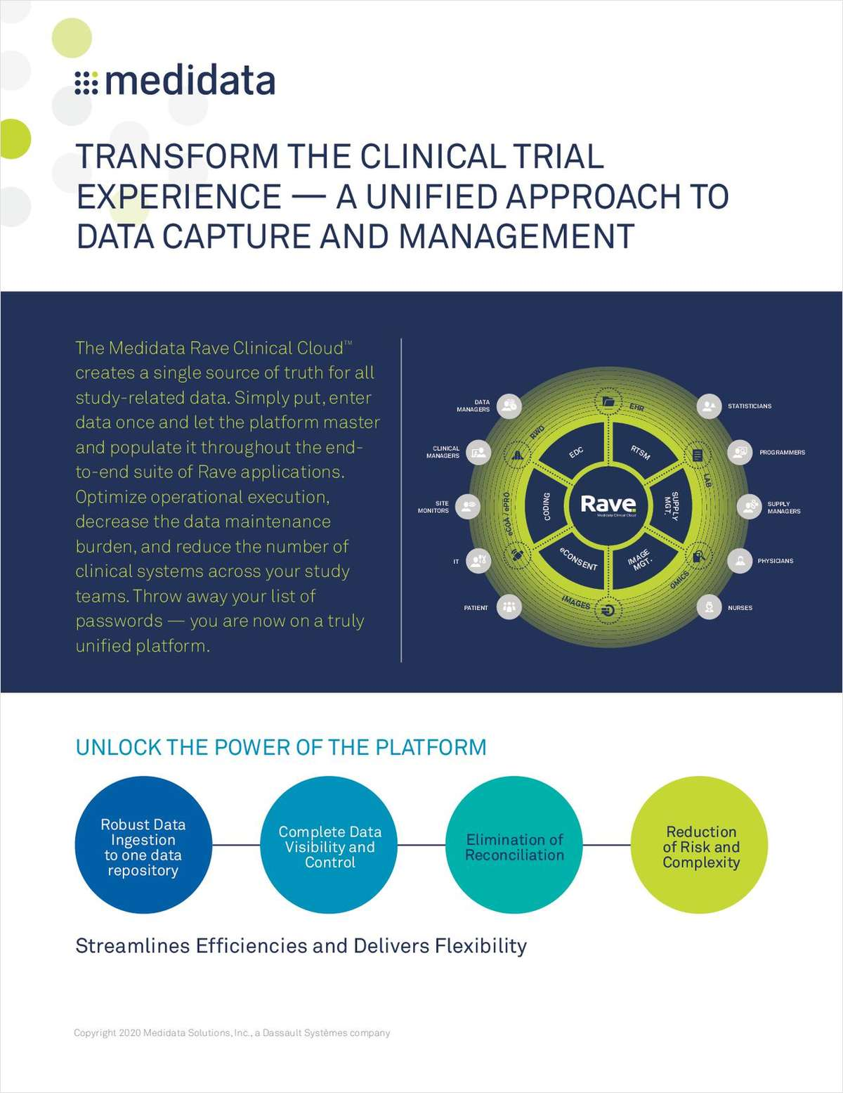 Transform the Clinical Trial Experience with a Unified Approach to CDCM