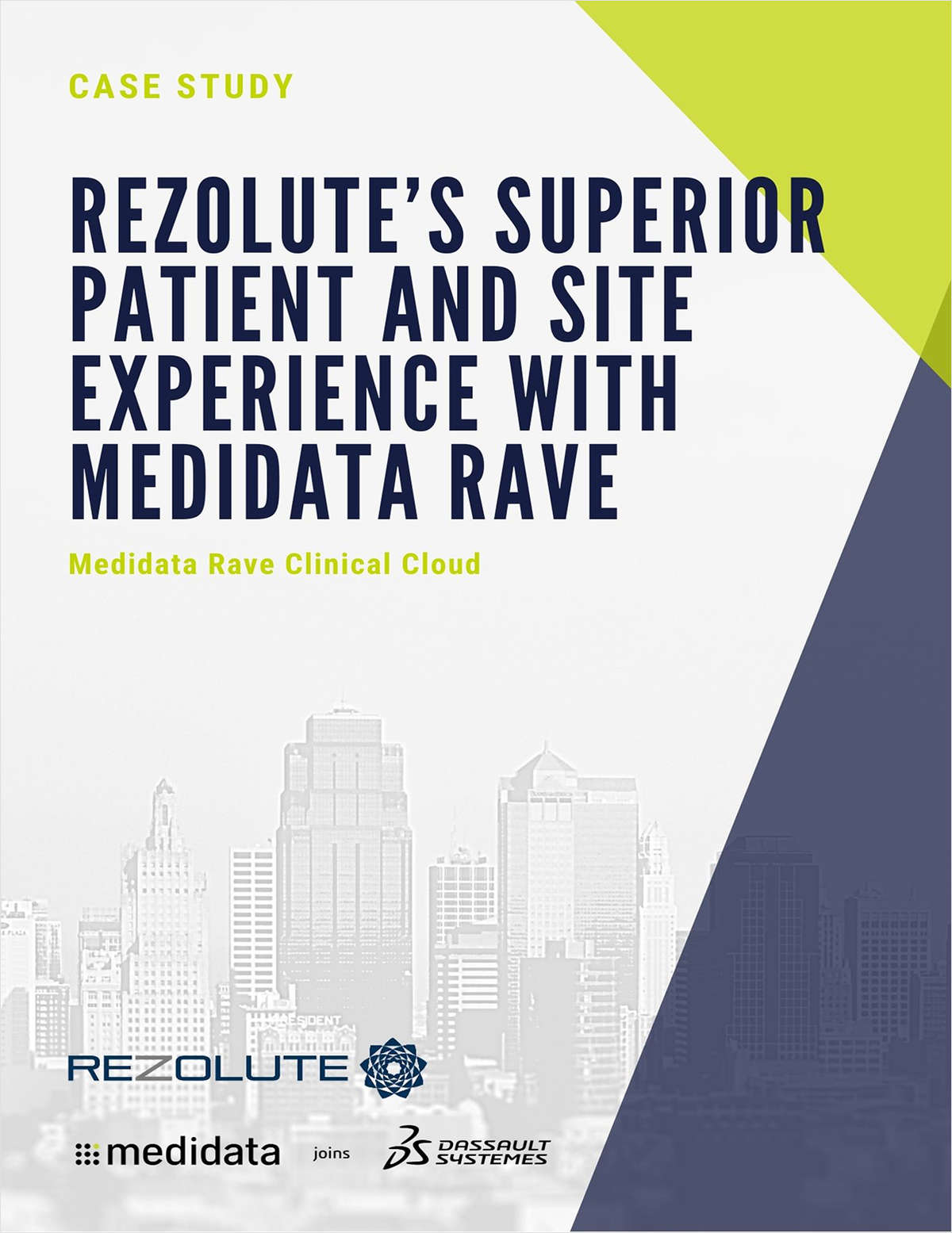 Rezolute's Superior Patient and Site Experience with Medidata Rave