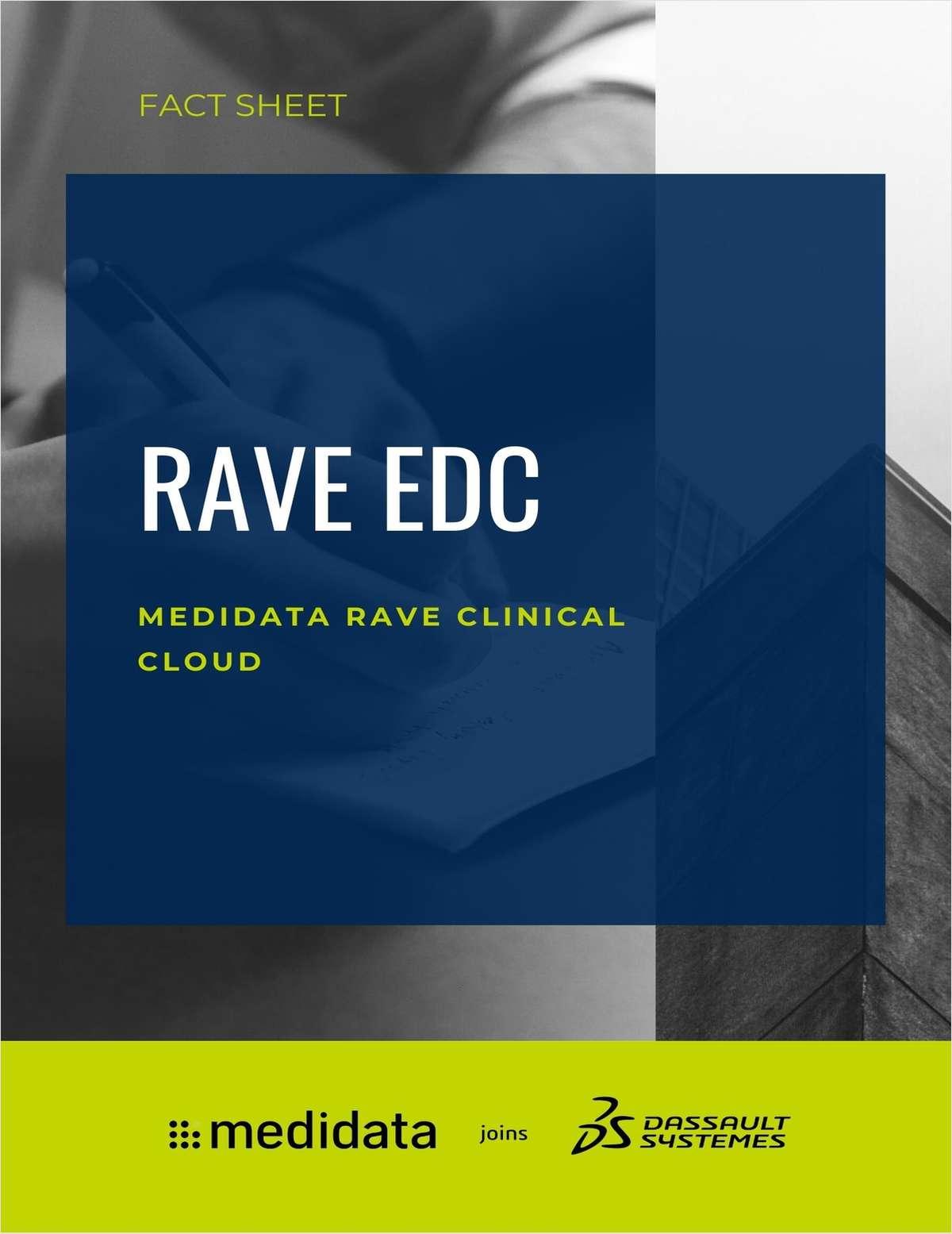 Rave EDC Fact Sheet