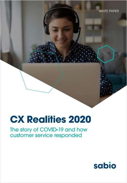CX Realities 2020