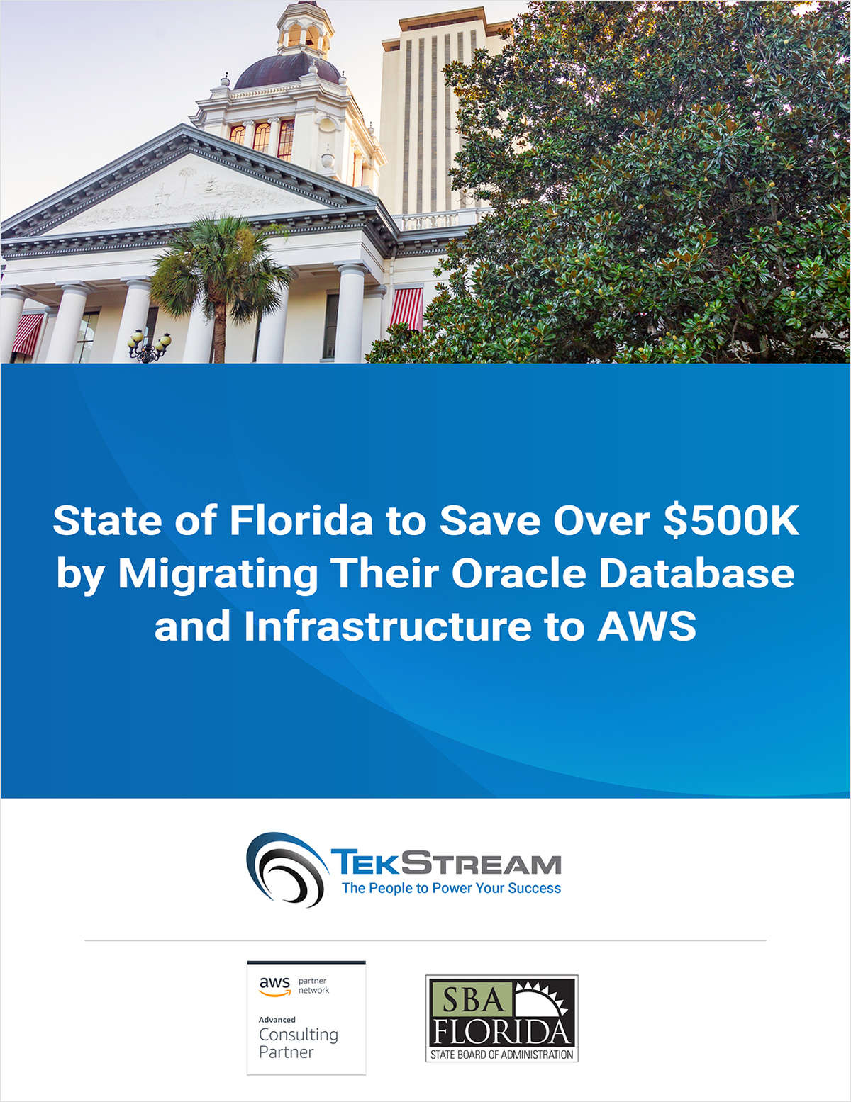 State of Florida Saves Big by Migrating to AWS