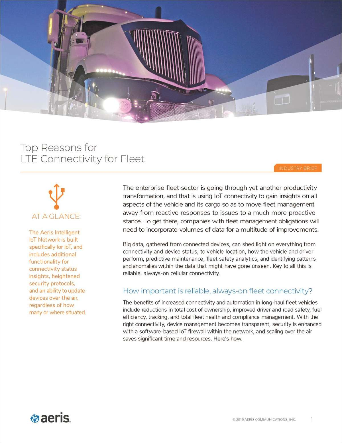 Top Reasons for LTE Connectivity for Fleet