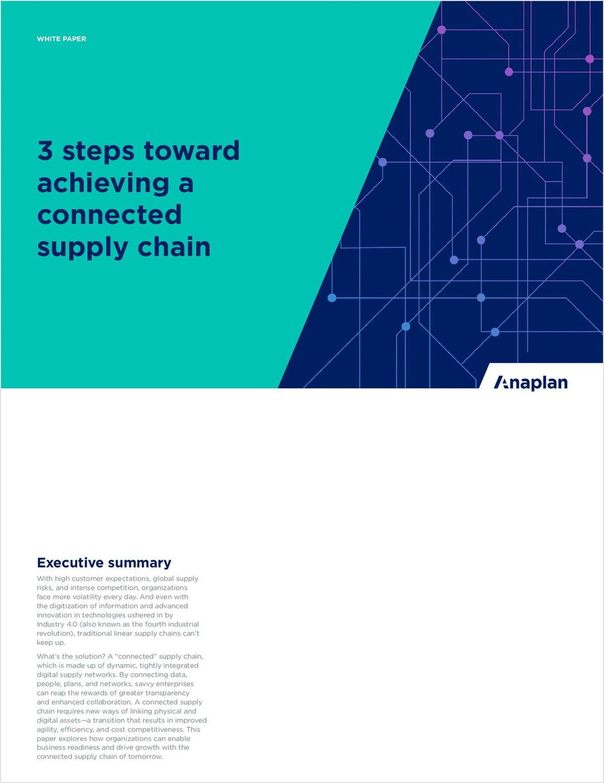 3 Steps Toward Achieving a Connected Supply Chain