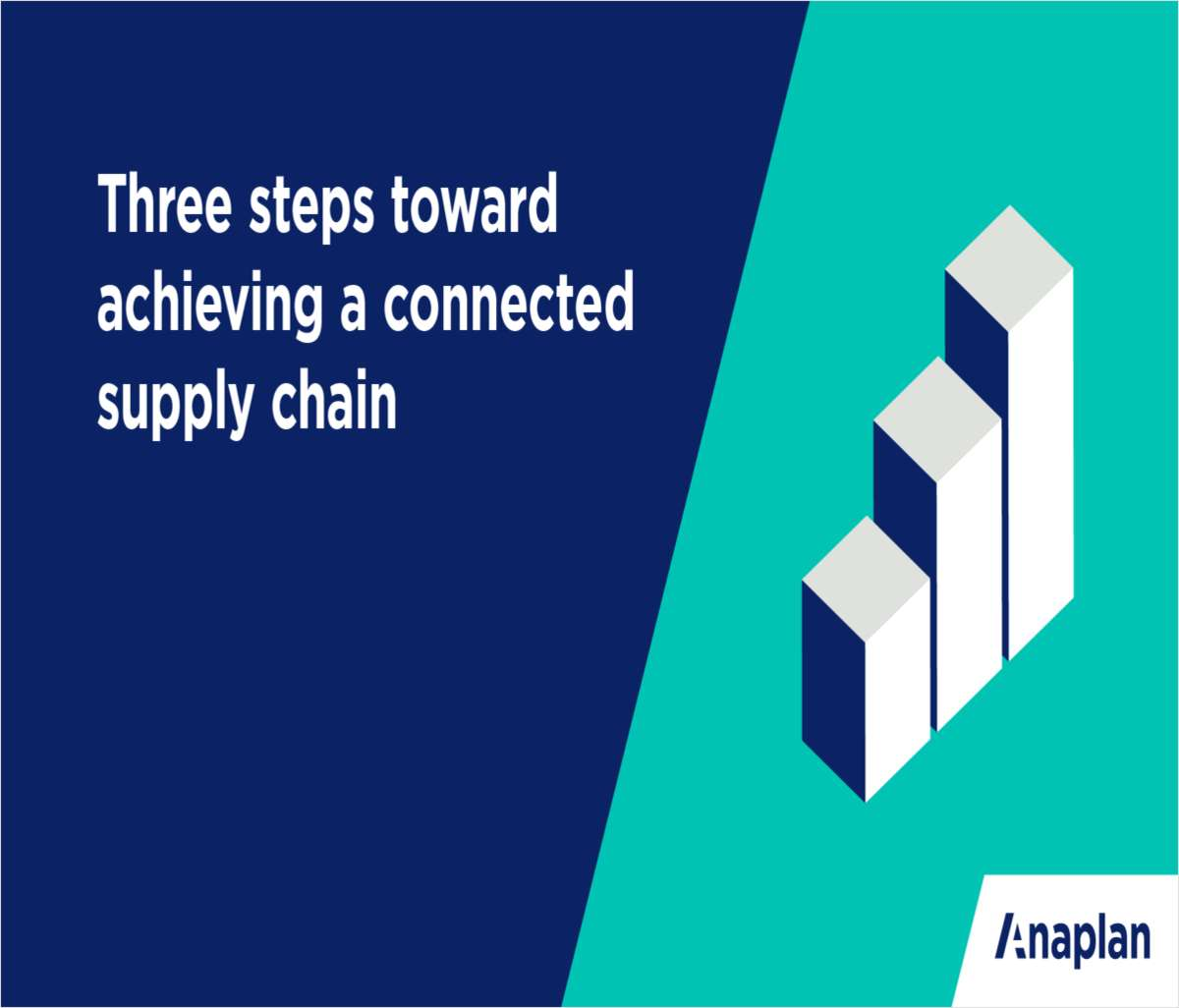 3 Steps to Connected Supply Chain Planning