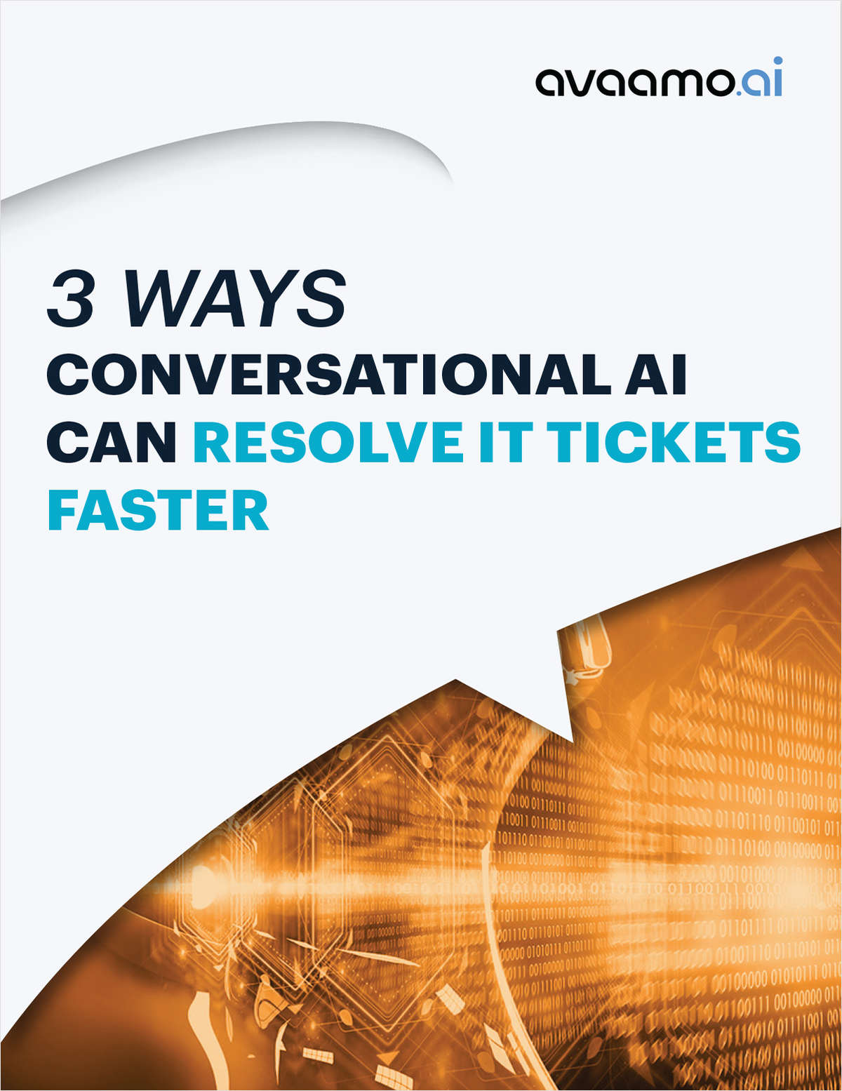 3 Ways Conversational AI Can Resolve Tickets Faster | eGuide