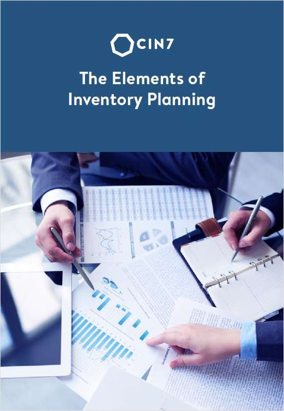The Elements of Inventory Planning