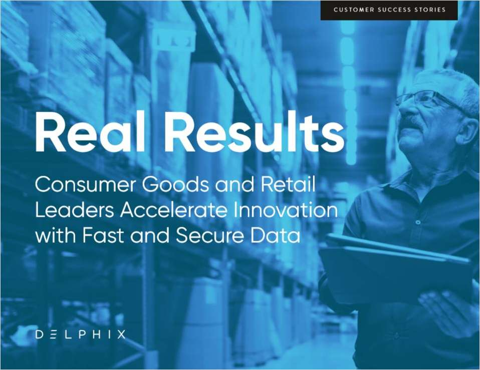 Consumer Goods and Retail Leaders Accelerate Innovation with Fast and Secure Data