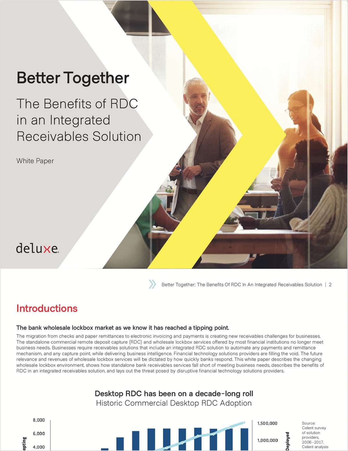 Better Together: The Benefits of RDC in an Integrated Receivables Solution