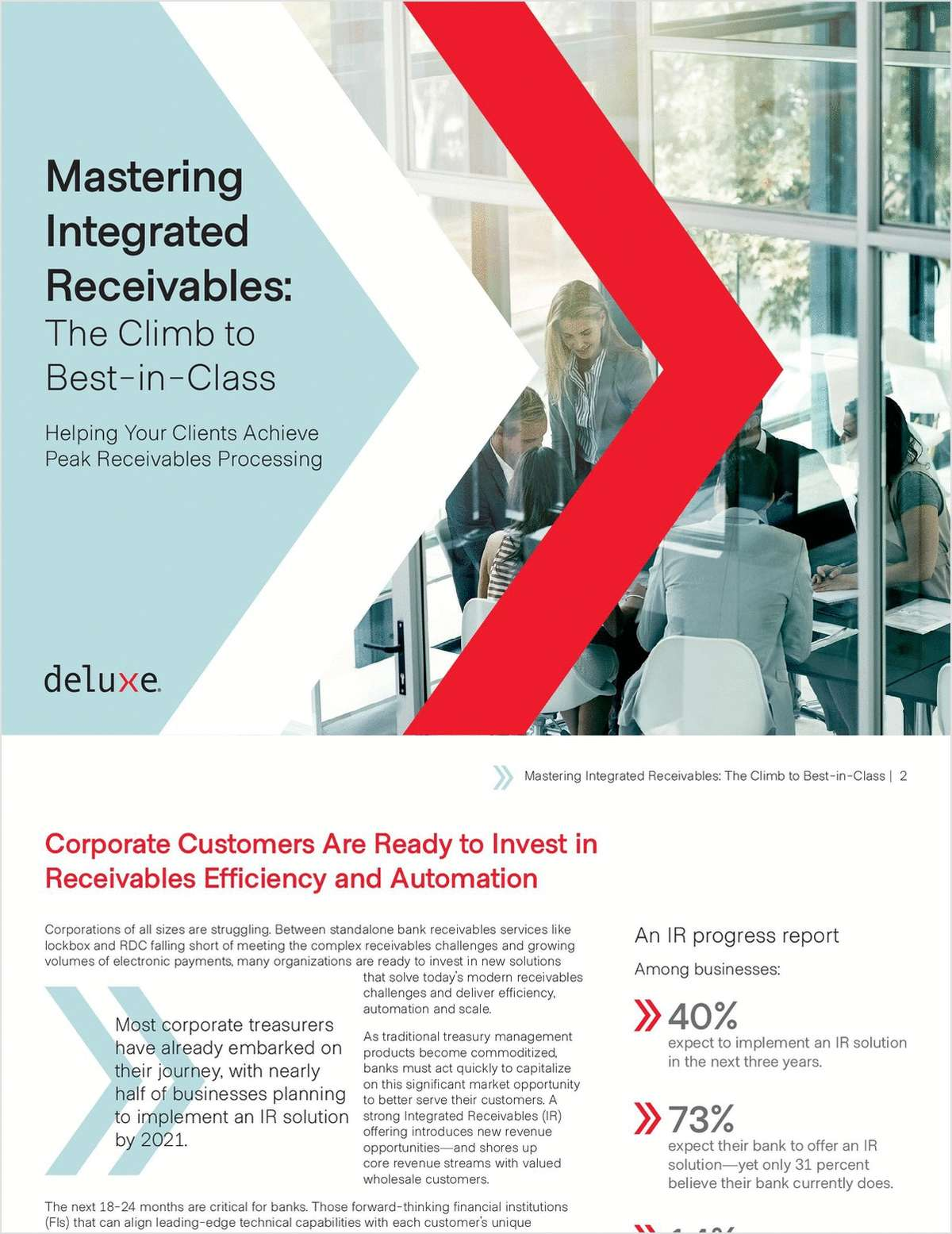 Mastering Integrated Receivables: The Climb to Best-in-Class