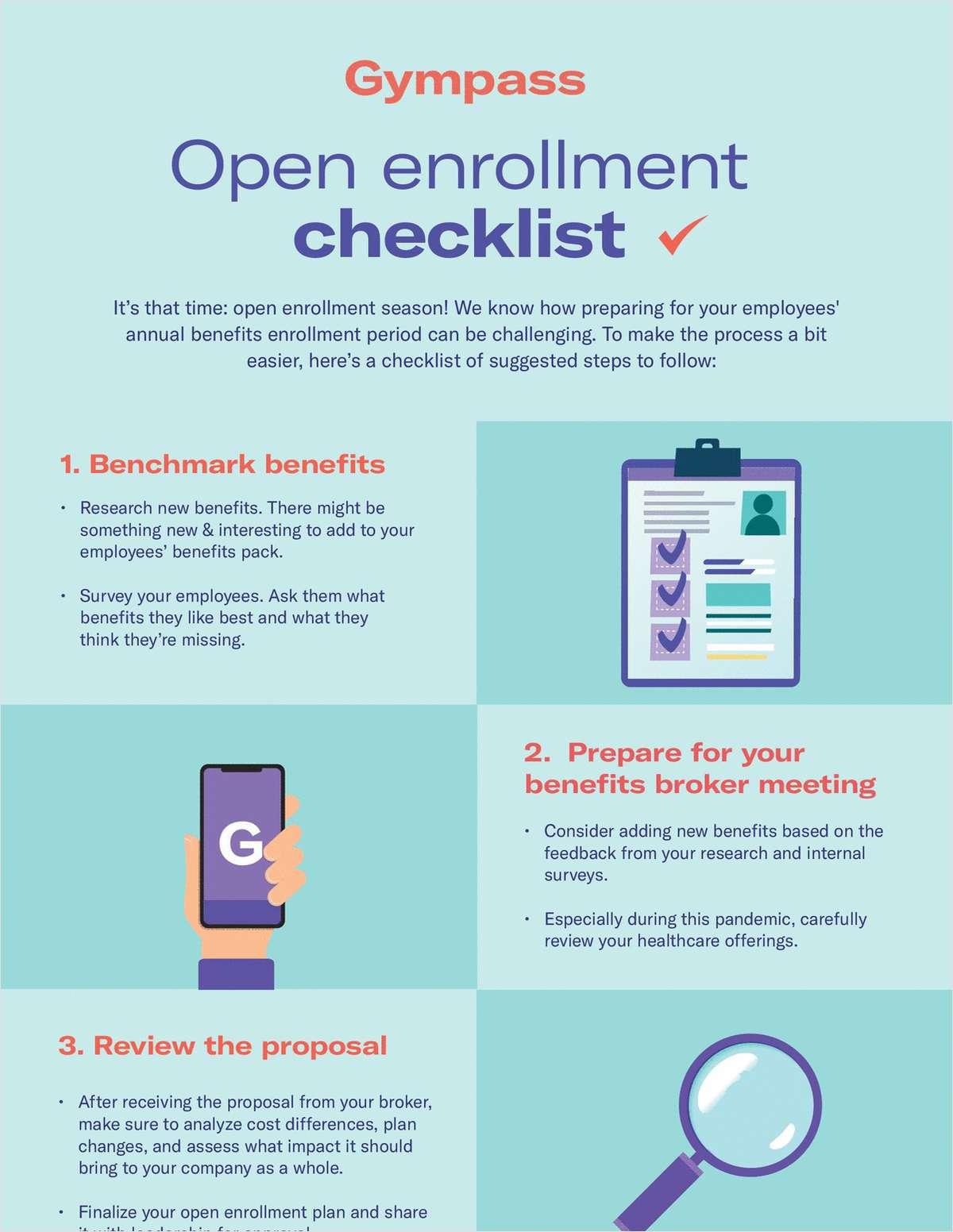 Open Enrollment Checklist