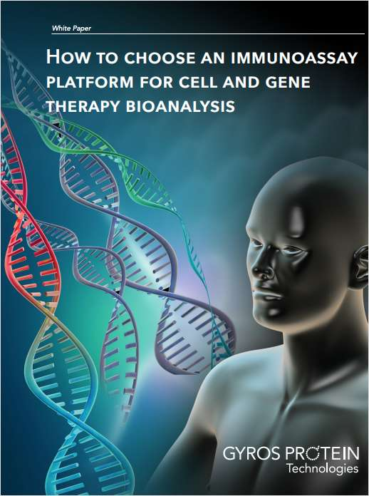 How To Choose An Immunoassay Platform For Cell & Gene Therapy Bioanalysis