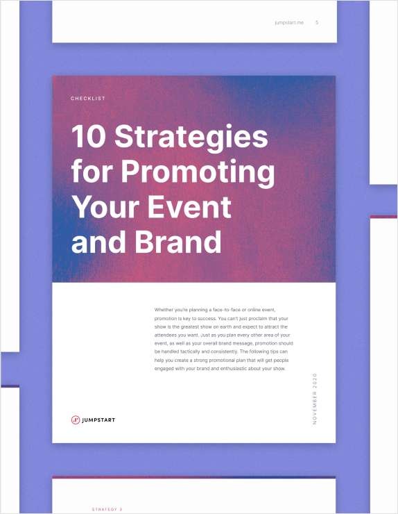 Free Checklist: 10 Strategies for Promoting Your Recruiting Event and Employer Brand