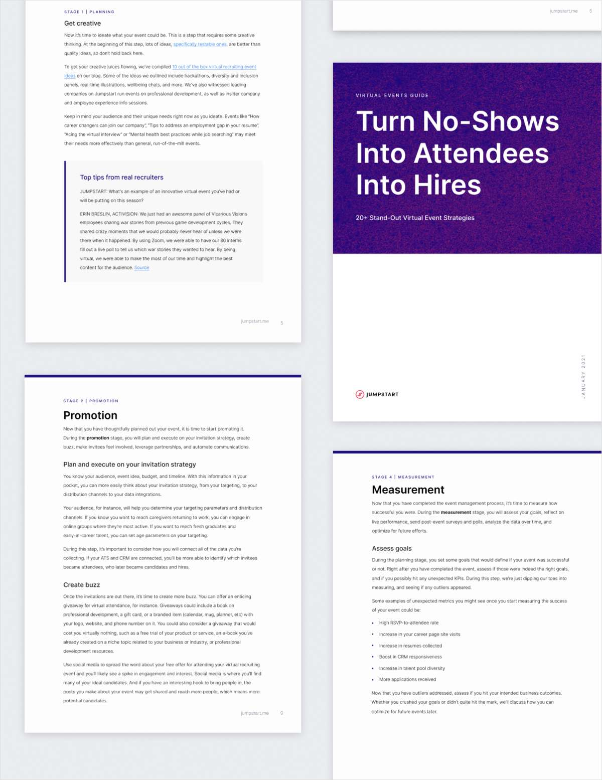 Free Virtual Events Guide: Turn No-Shows Into Attendees Into Hires