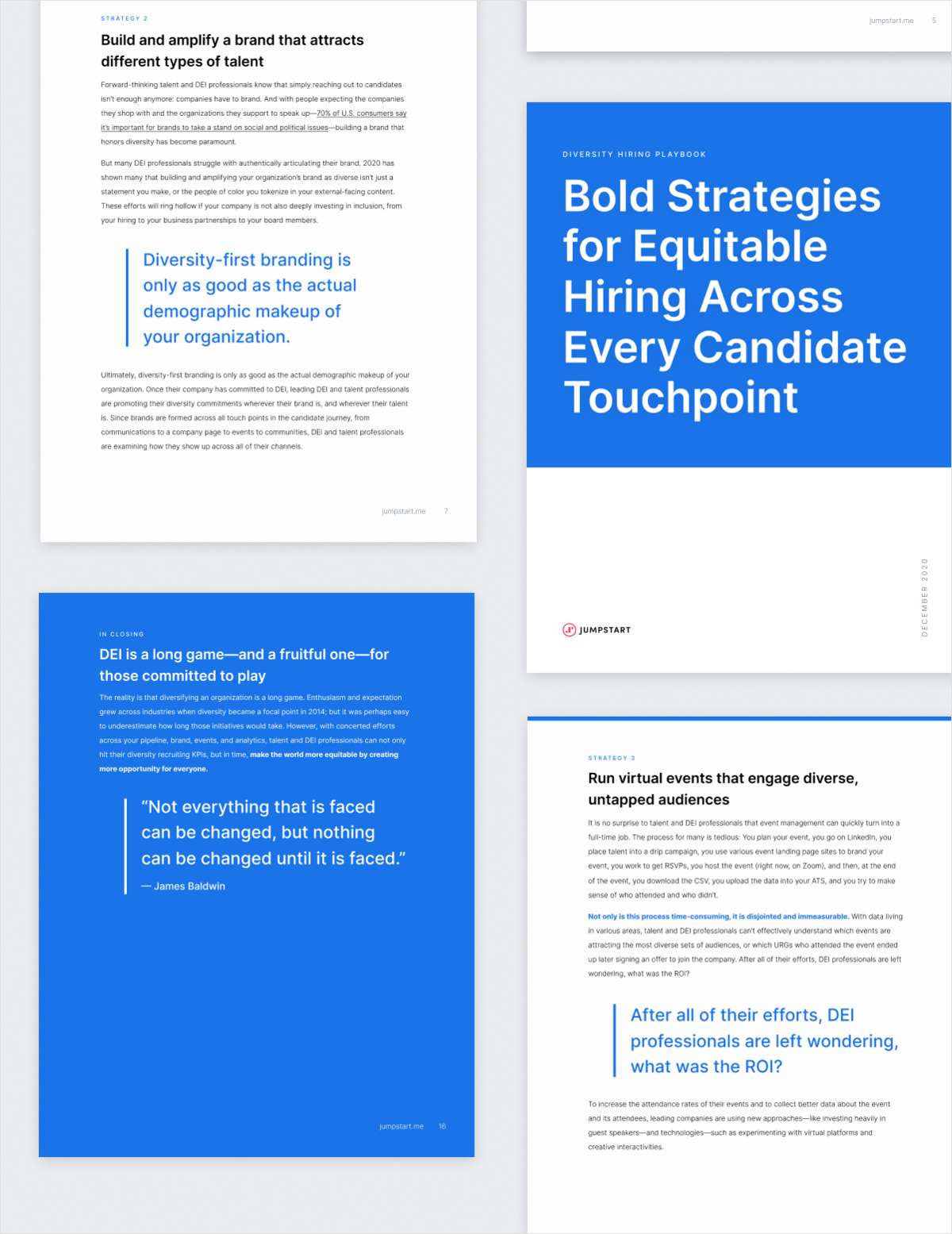 Free Diversity Hiring Playbook: Bold Strategies for Equitable Hiring Across Every Candidate Touchpoint