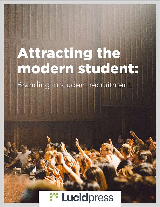 Attracting the modern student: Branding in student recruitment