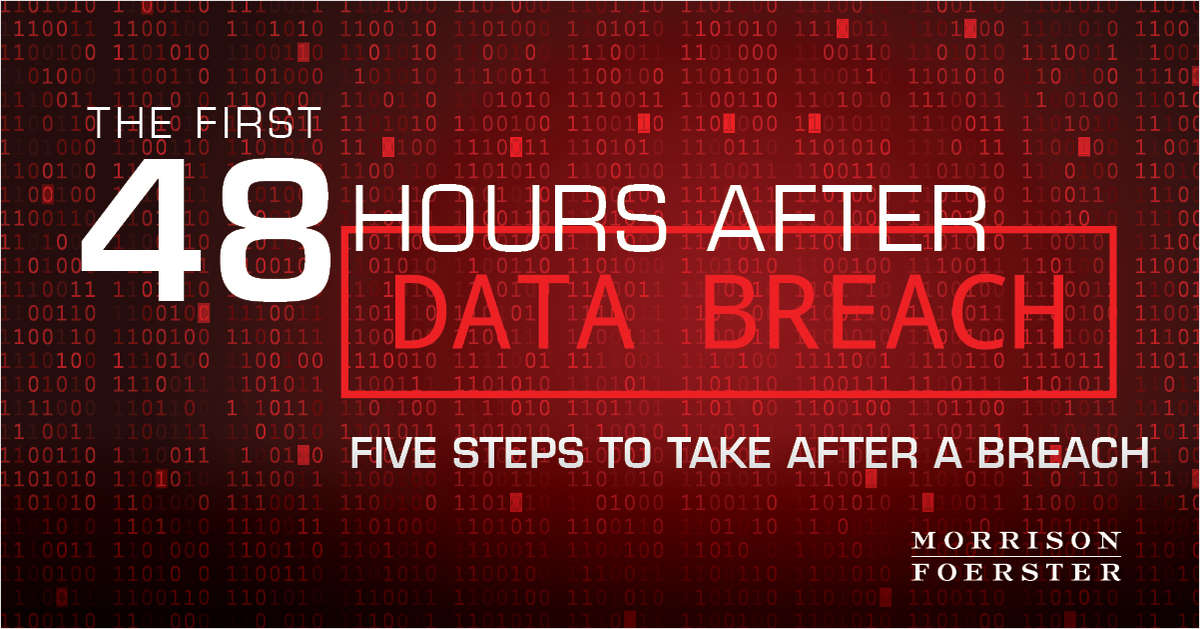 The First 48 Hours After a Data Breach