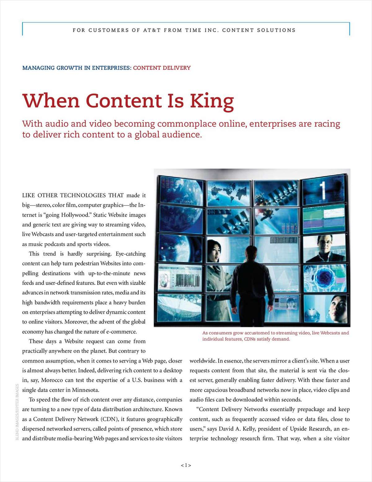 When Content Is King