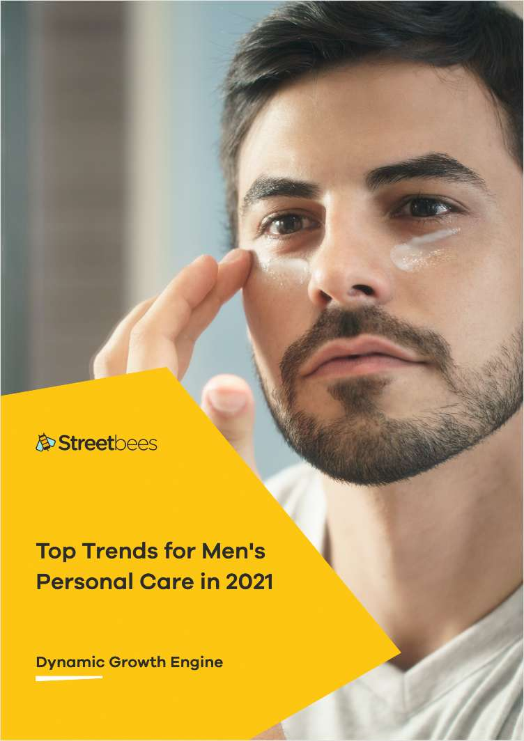 Top Trends for Men's Personal Care in 2021