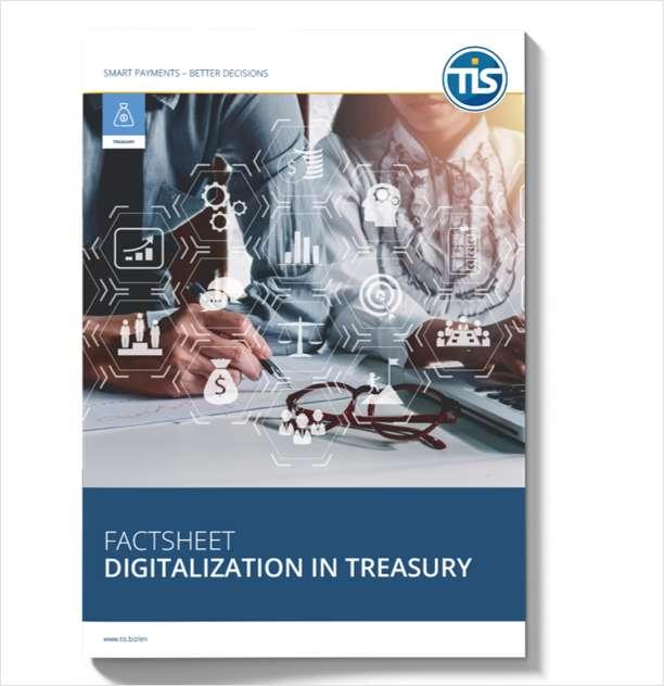 Enhancing your strategic position: Digitalization in Treasury