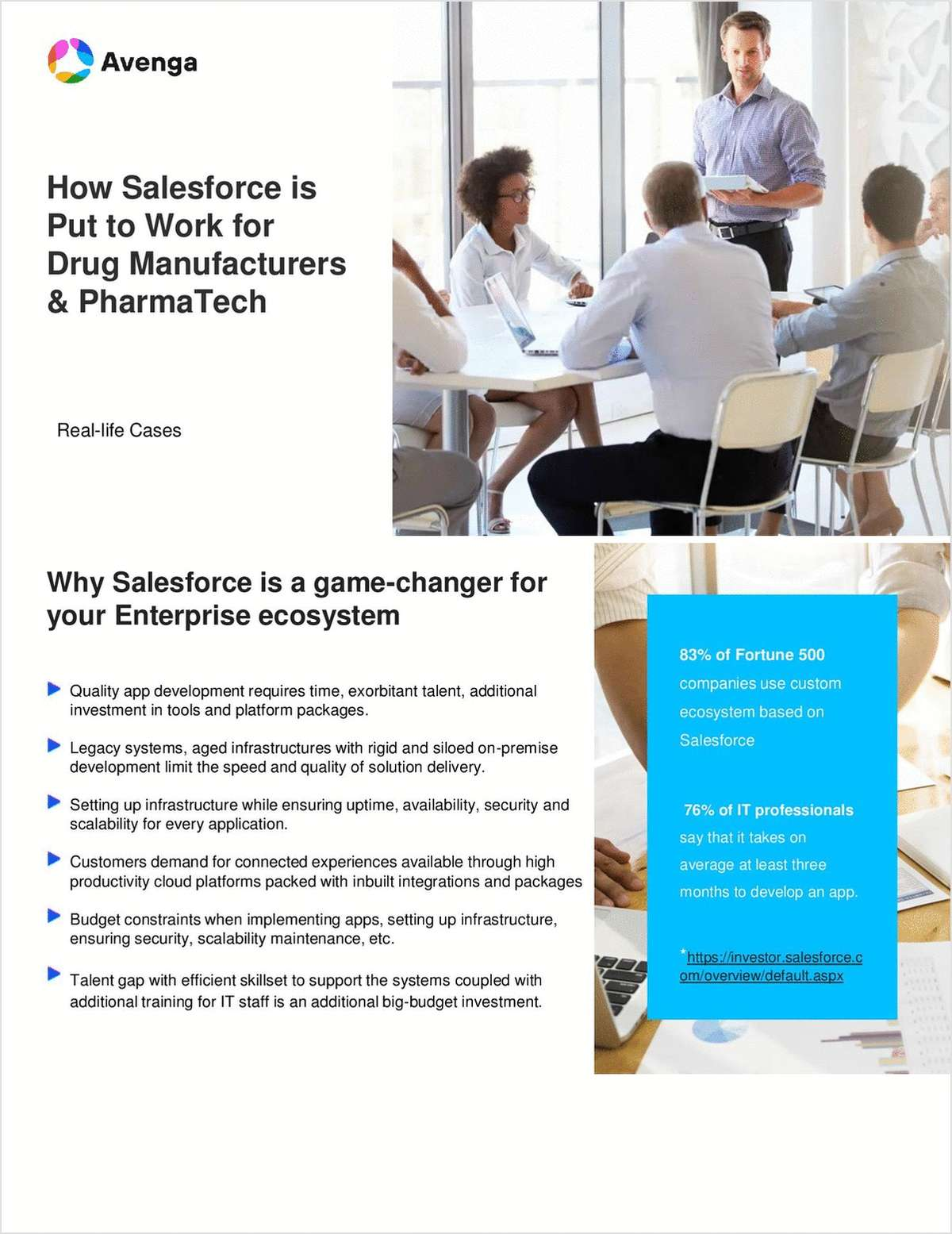How Salesforce is Put to Work for Drug Manufacturers & PharmaTech: Real Cases