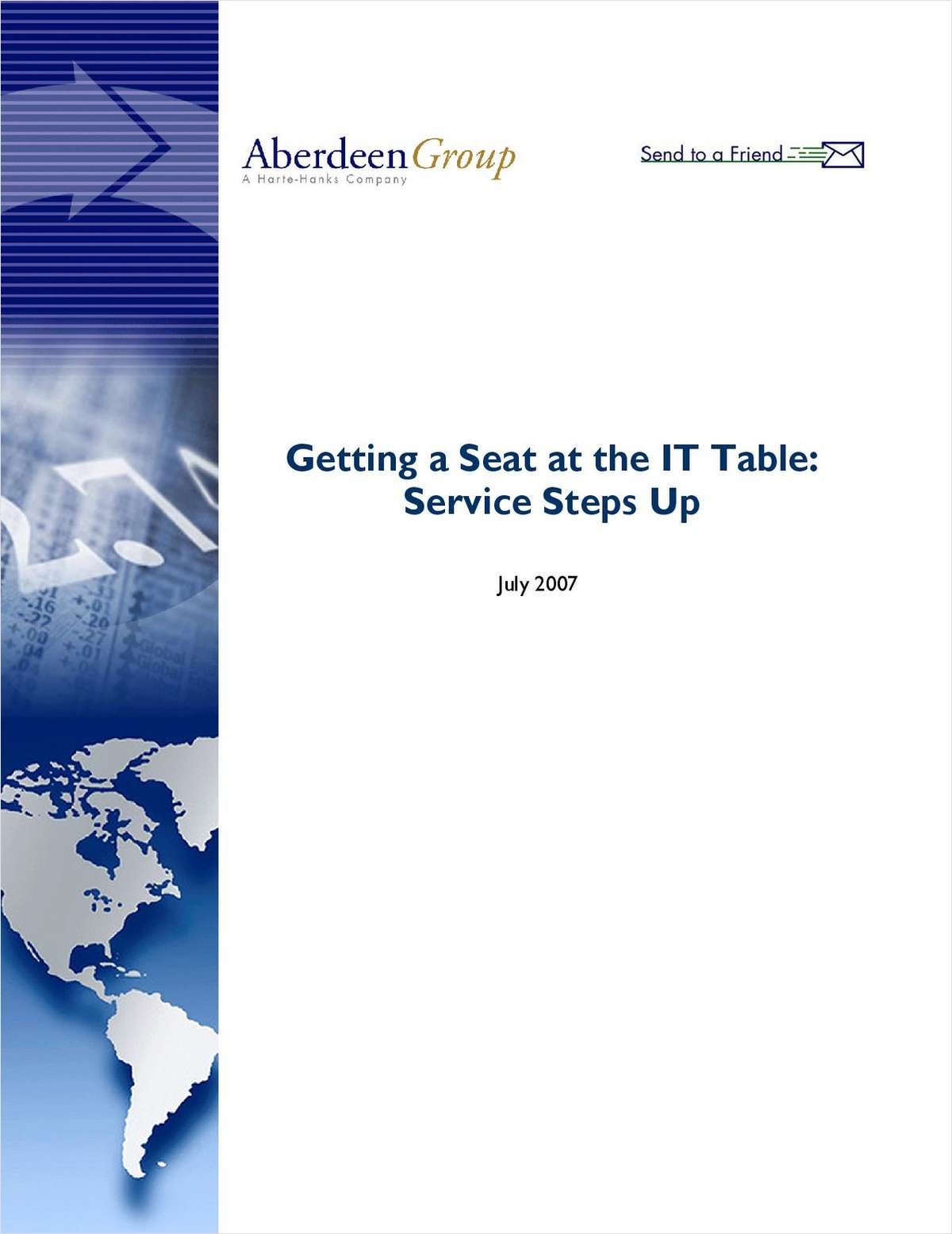 Getting a Seat at the IT Table: Service Steps Up