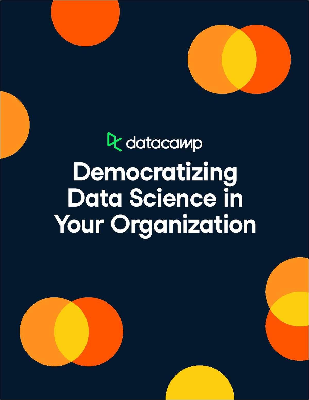Whitepaper | Democratizing Data Science in Your Organization