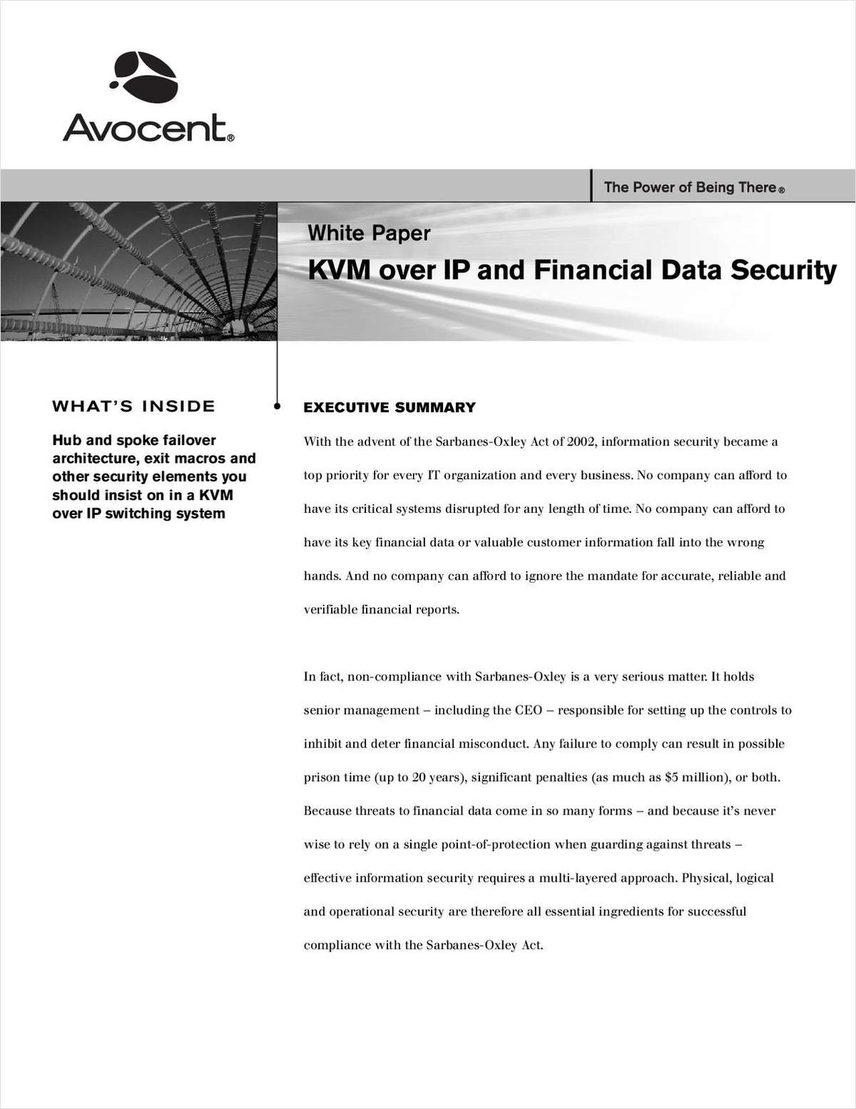 KVM over IP and Financial Data Security