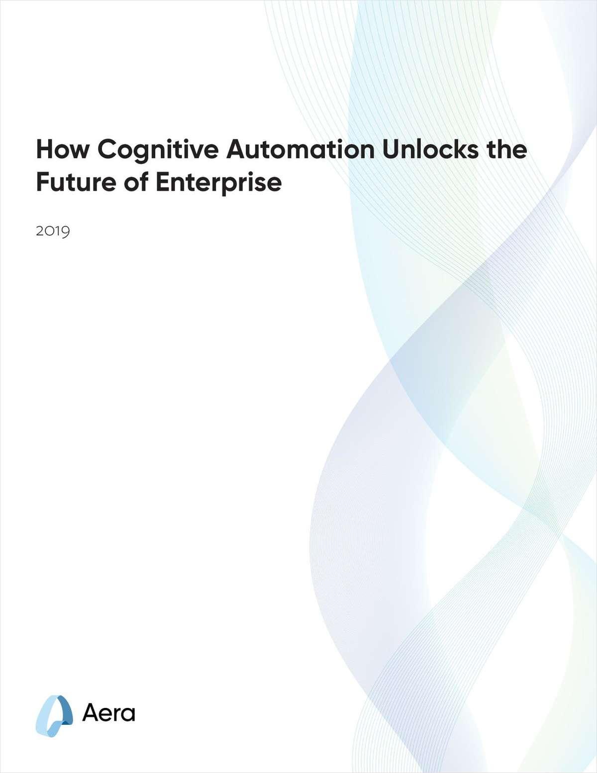 How Cognitive Automation Unlocks the Future of Enterprise