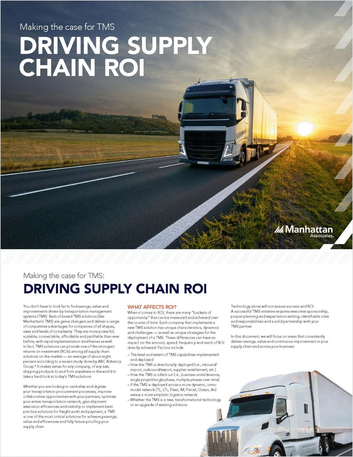 How to Drive Supply Chain ROI
