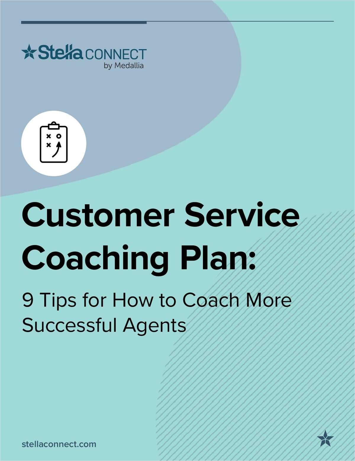 Customer Service Coaching Plan