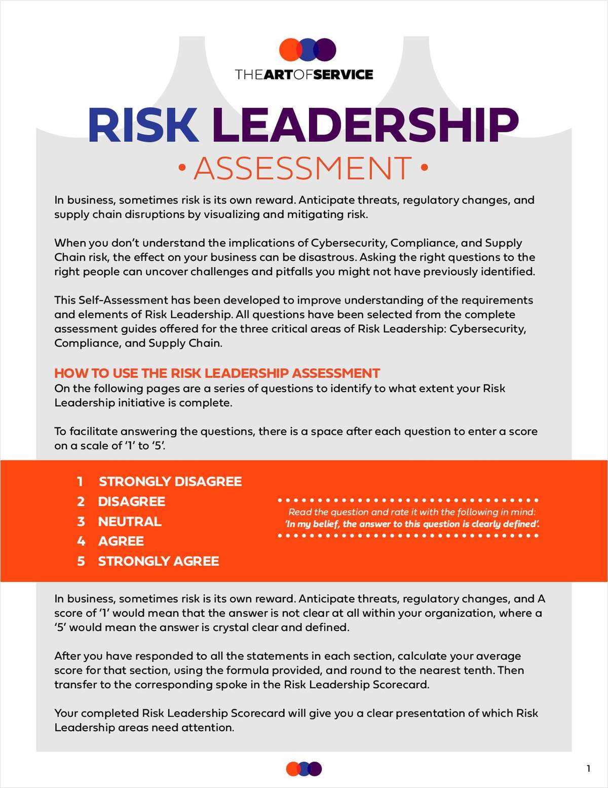 Risk Leadership Assessment