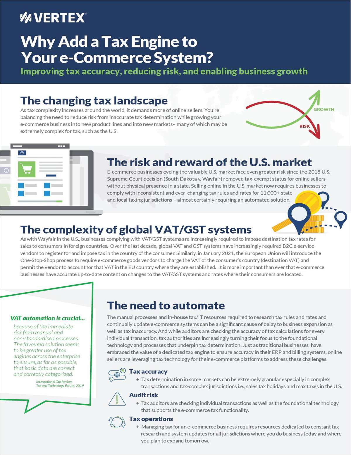 Why Add a tax Engine to Your E-Commerce Platform