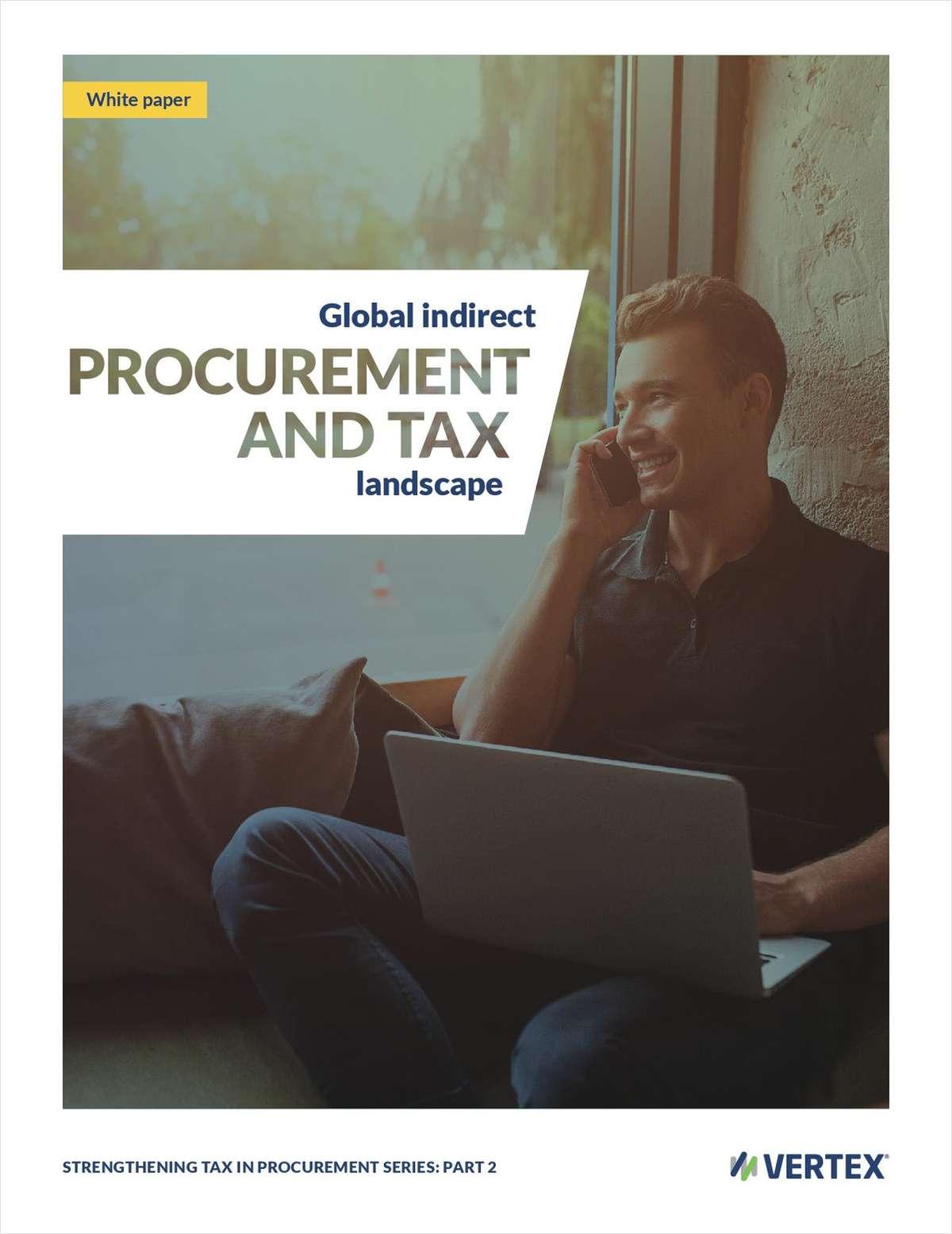 Global indirect procurement and tax landscape