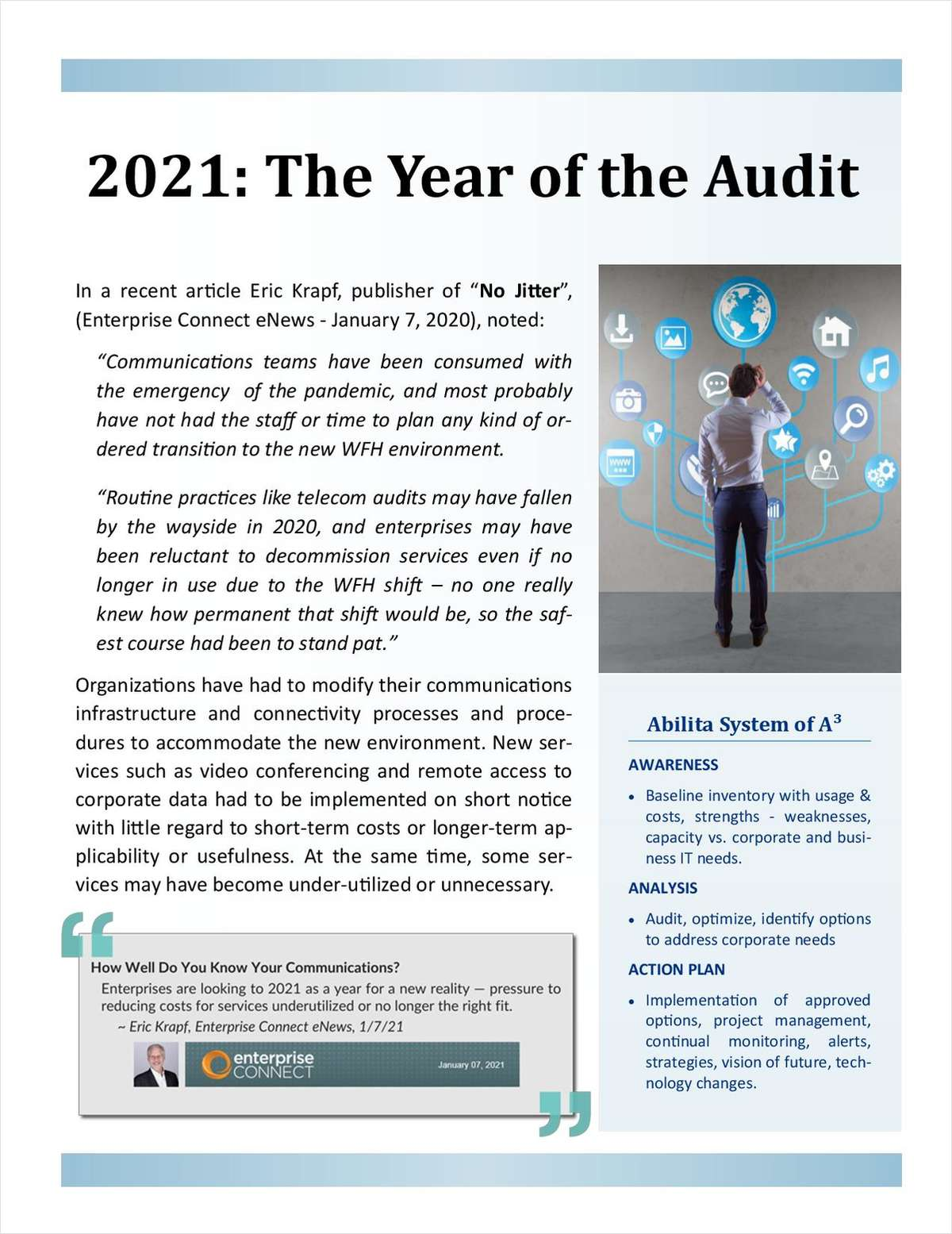 2021 - Year of the Technology Audit