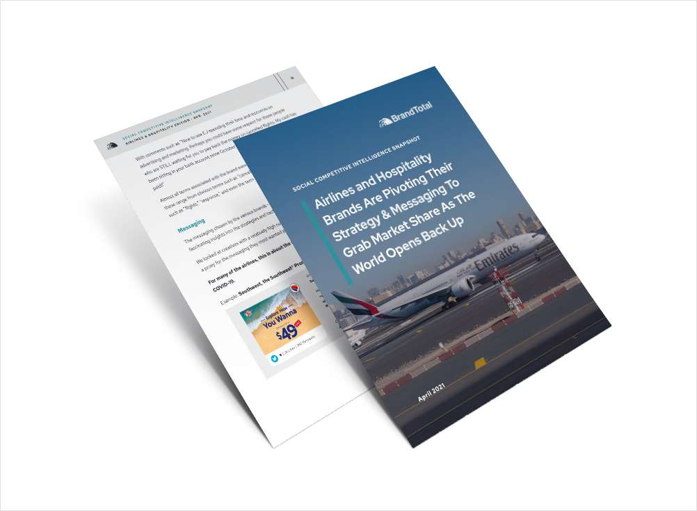 Uncover Competitive Social Ad Secrets for the Airlines & Hospitality Industry