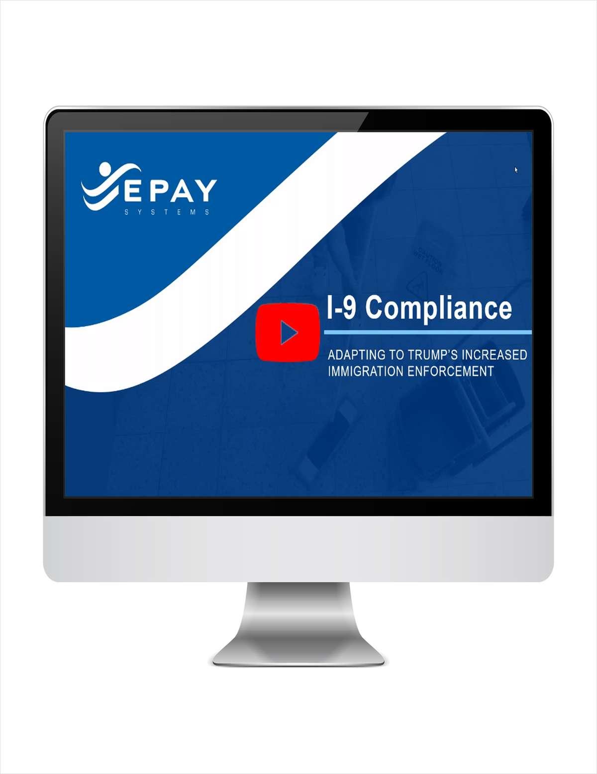 Webinar: I-9 Compliance