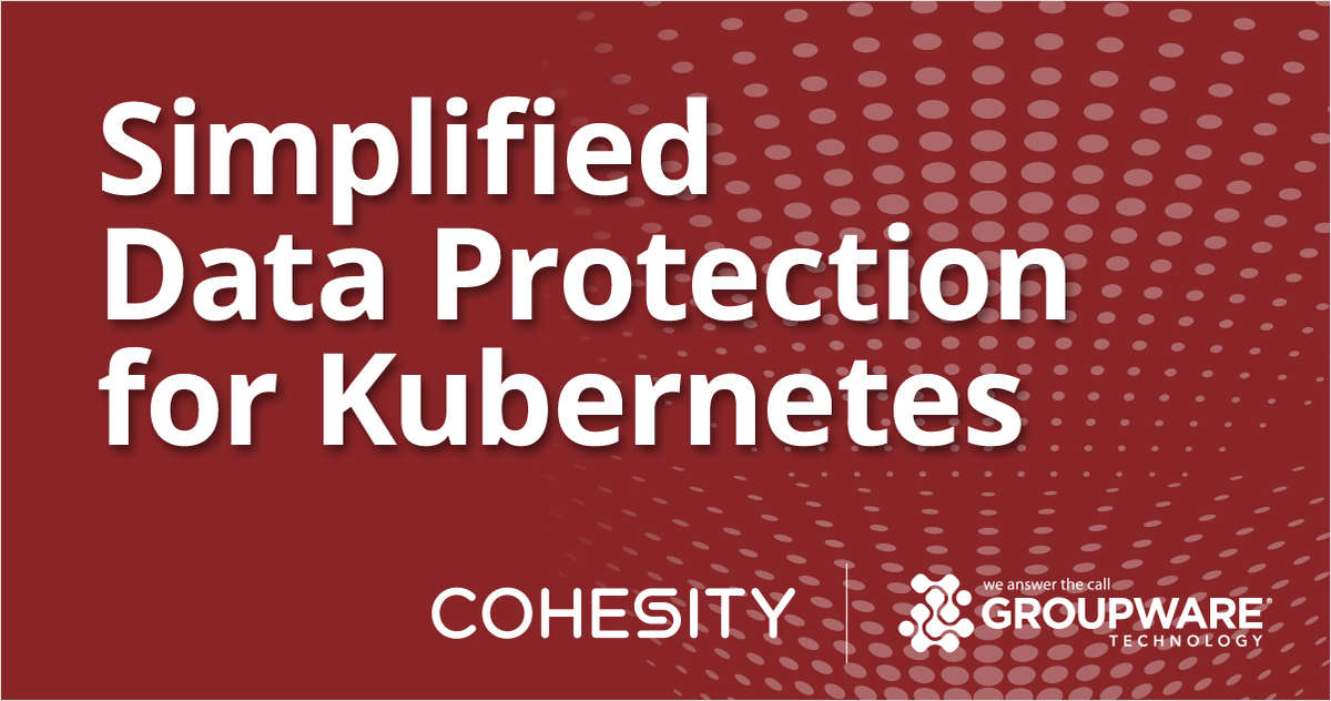 Data Protection for Entire Container Application Stack Based on Kubernetes