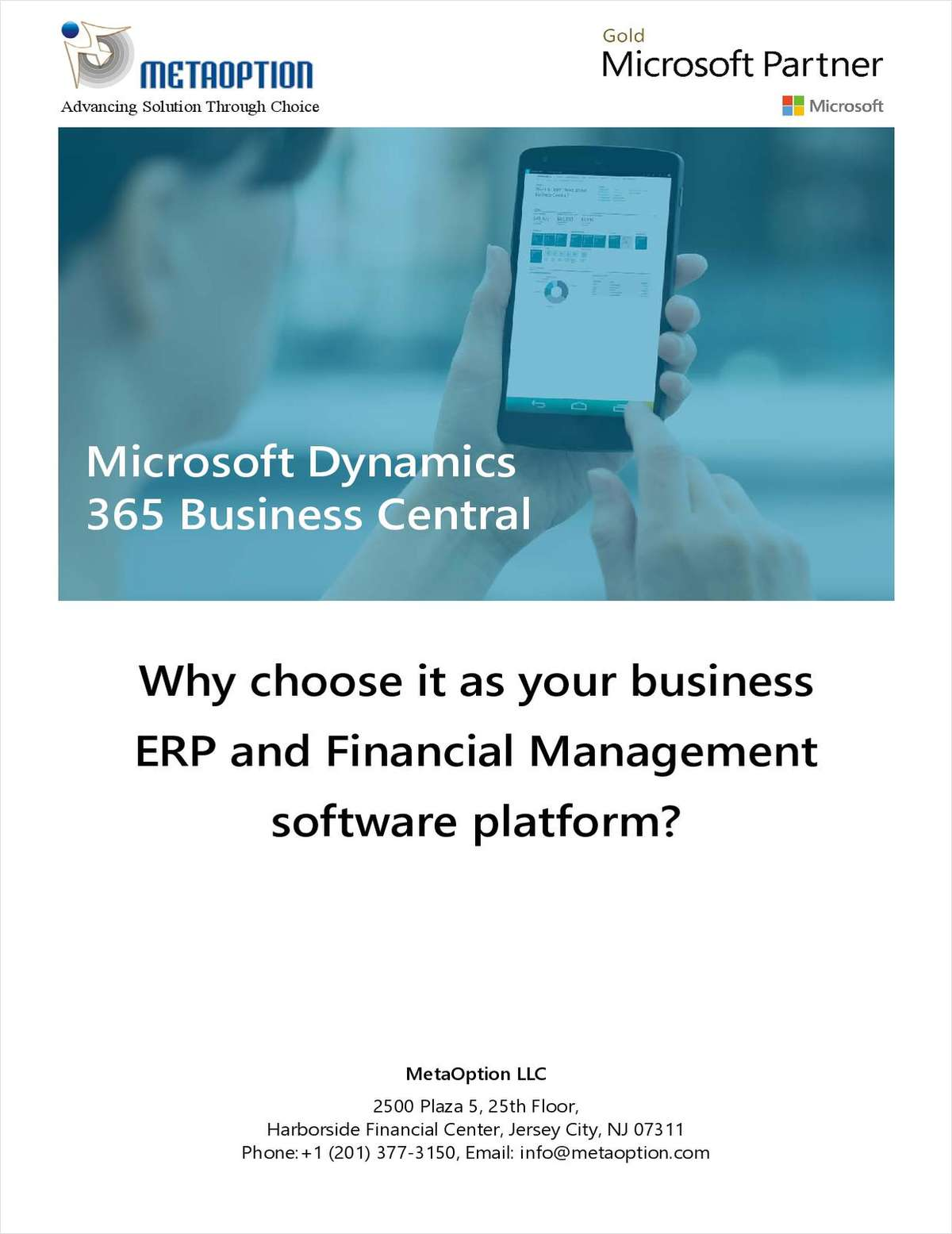 Why Choose Dynamics 365 Business Central as Your Business ERP and Financial Management Software Platform for Manufacturers?