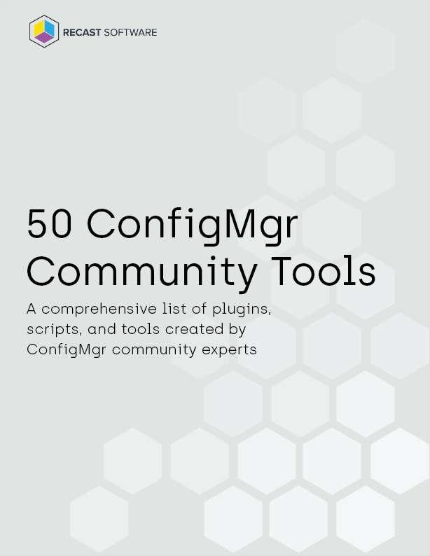 50 ConfigMgr Community Tools