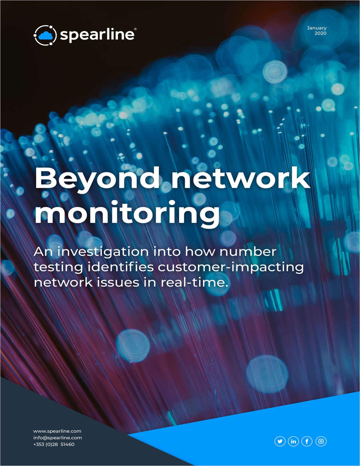 Beyond Network Monitoring