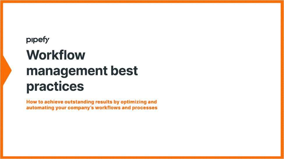 Workflow Management Best Practices