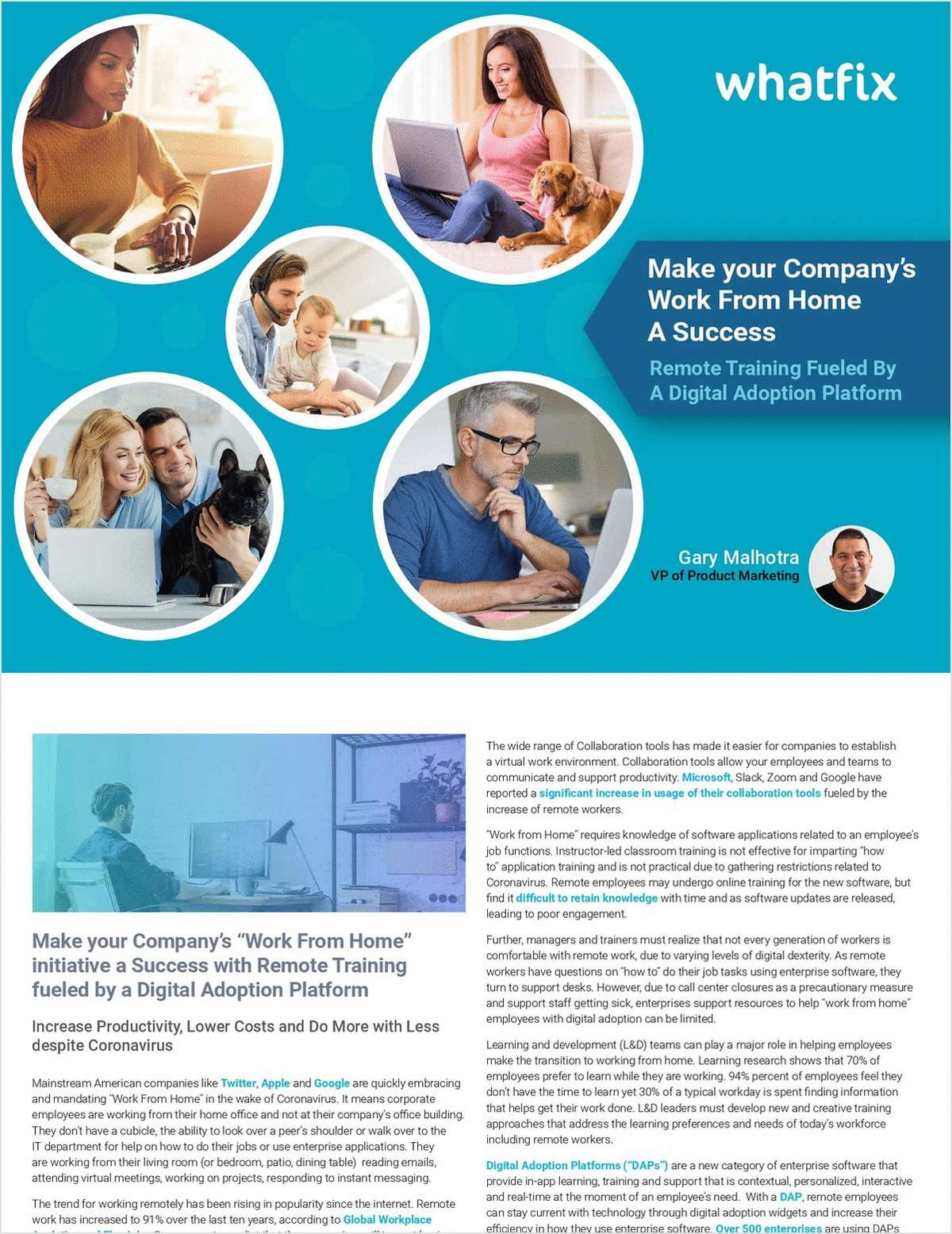 Achieve 'Work From Home' Success with Remote Training Powered by DAS