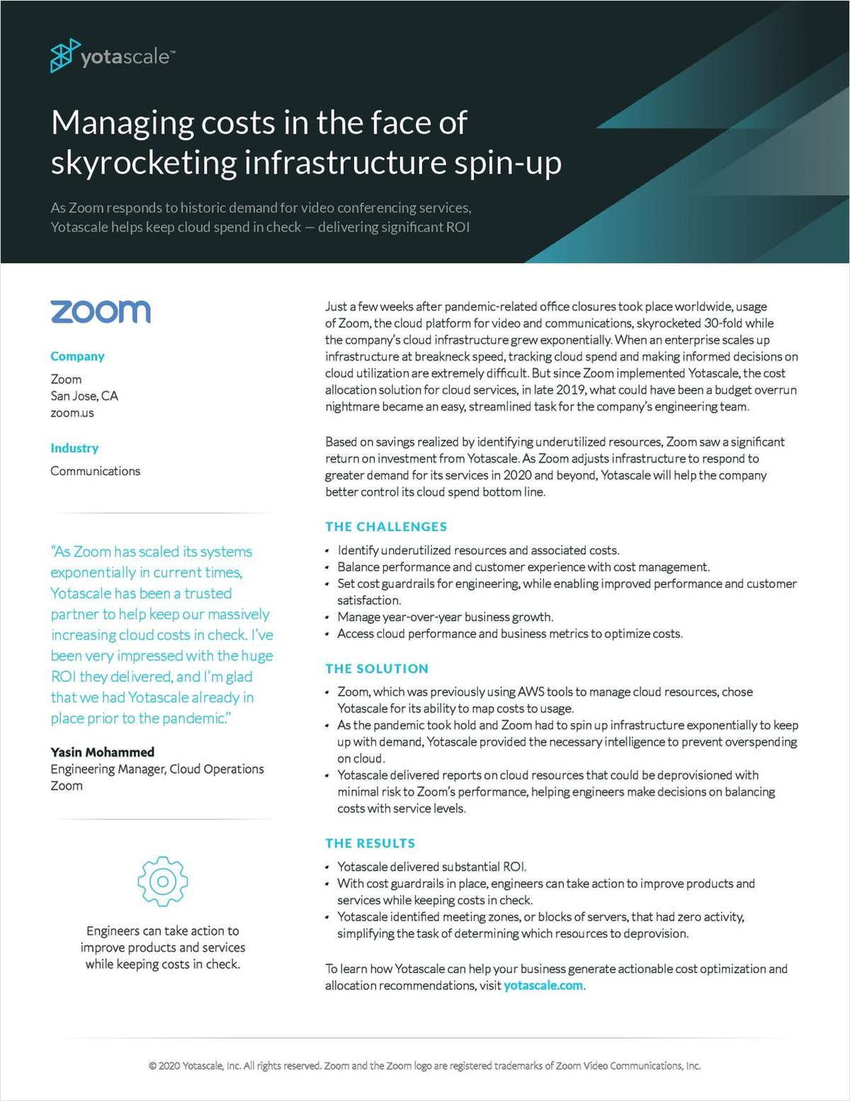 Managing Costs In The Face Of Skyrocketing Infrastructure Spin-Up