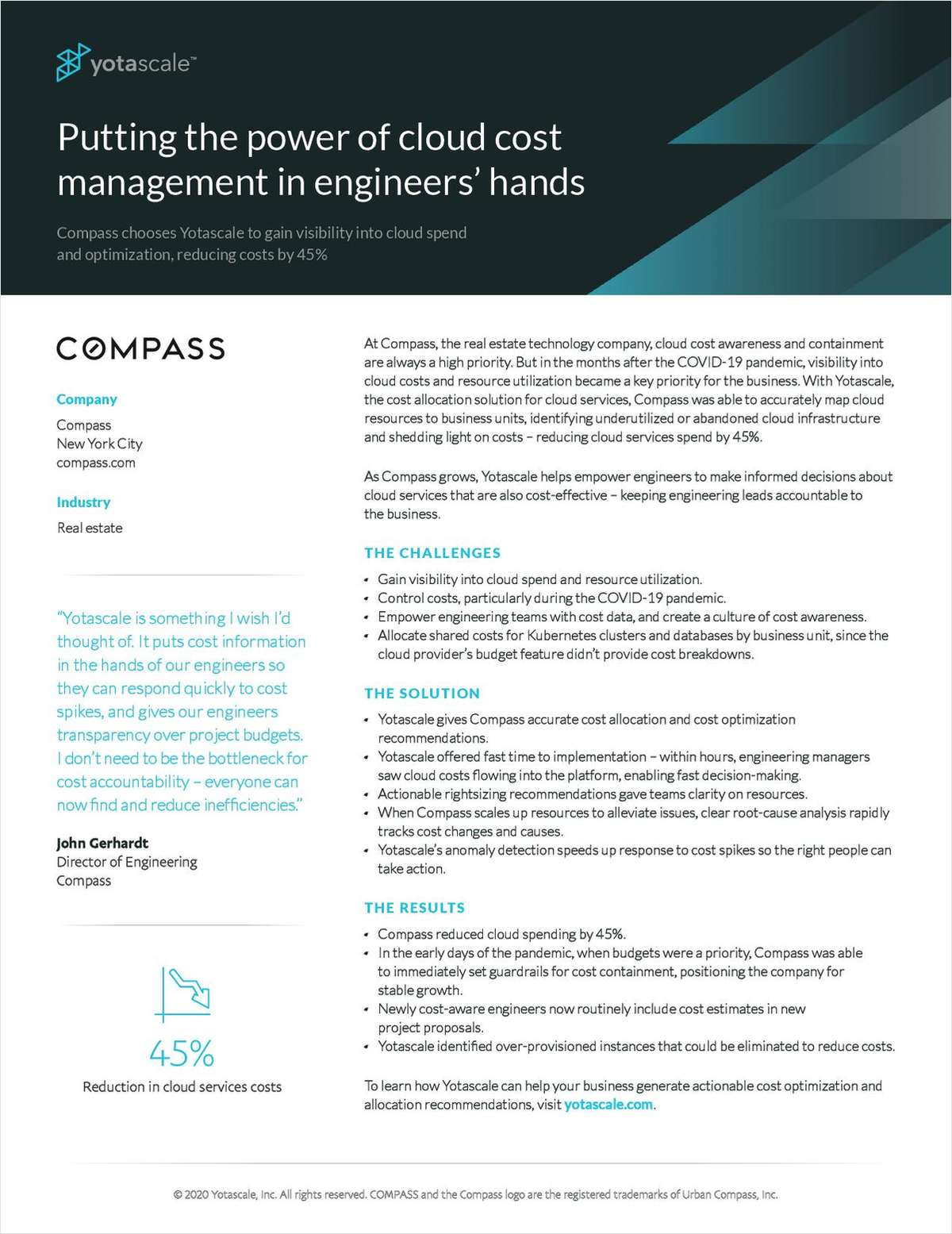 Putting the power of cloud cost management in engineers' hands