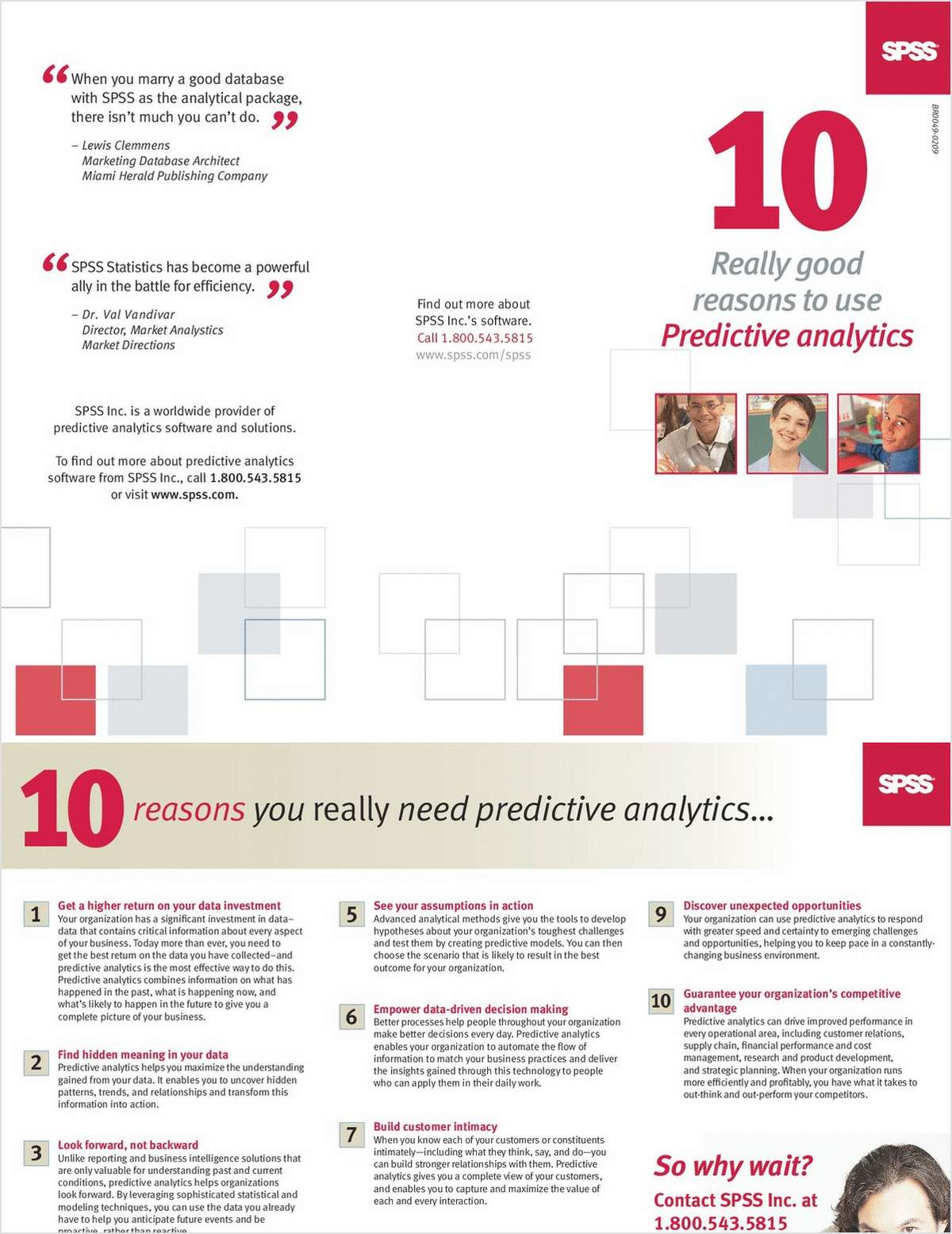 10 Really Good Reasons To Use Predictive Analytics