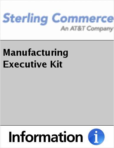Manufacturing Executive Kit
