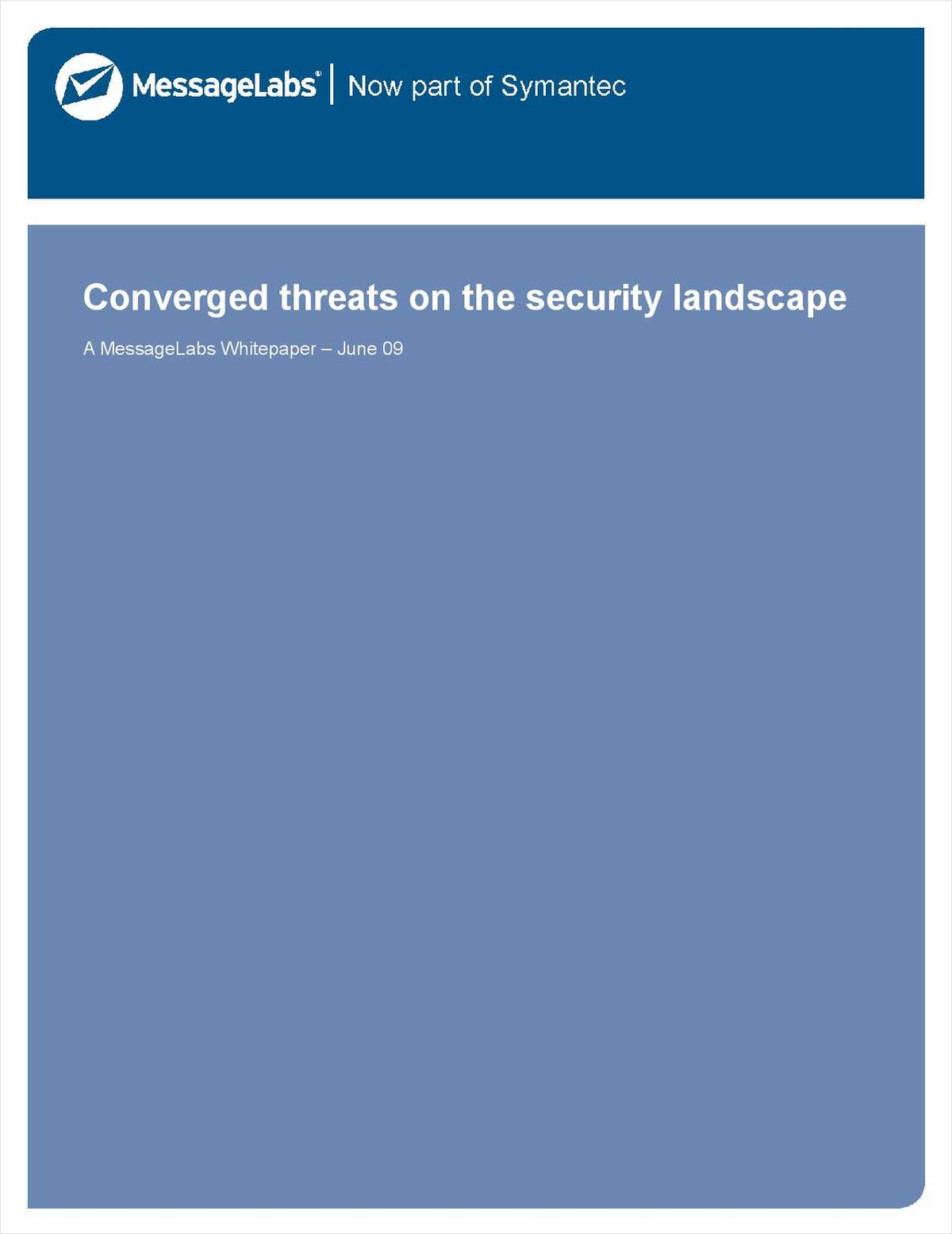 Converged Threats on the Security Landscape