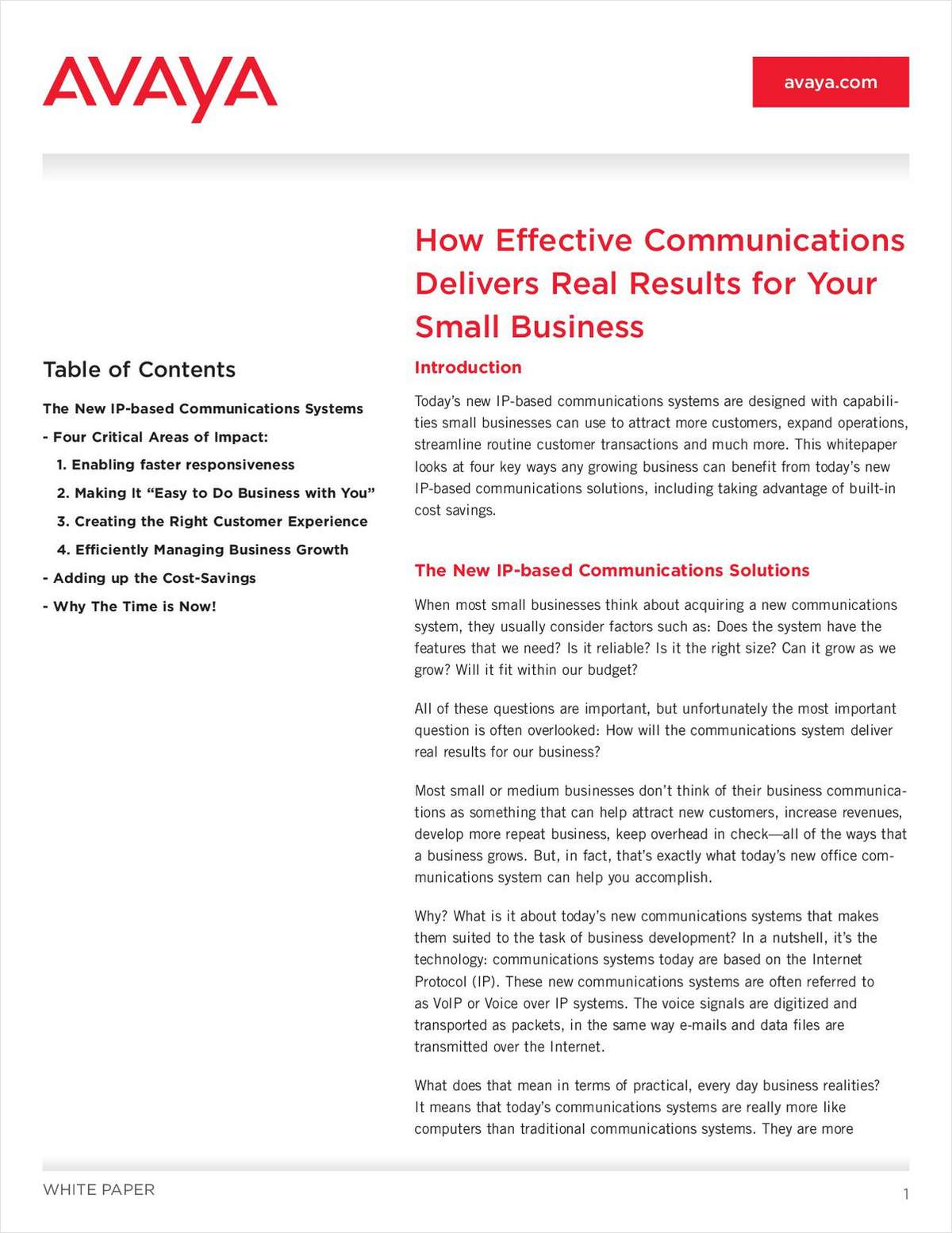 How Effective Communications Deliver Real Results to Your Small Business