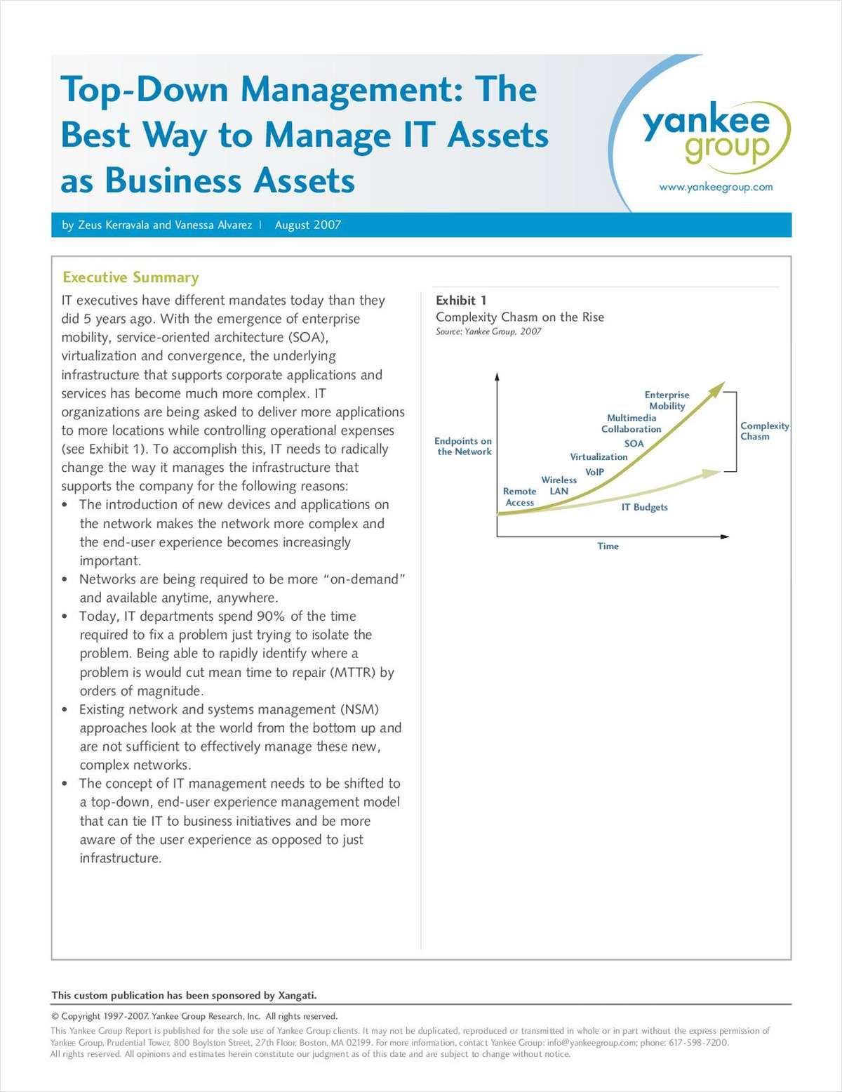 Top-Down Management: The Best Way to Manage IT Assets and Business Assets